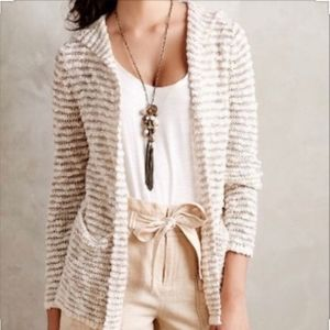 Anthropologie | Moth Striped Cardigan
